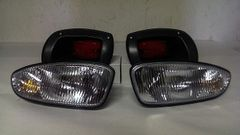 Ezgo RXV Golf Cart Light Kit Basic