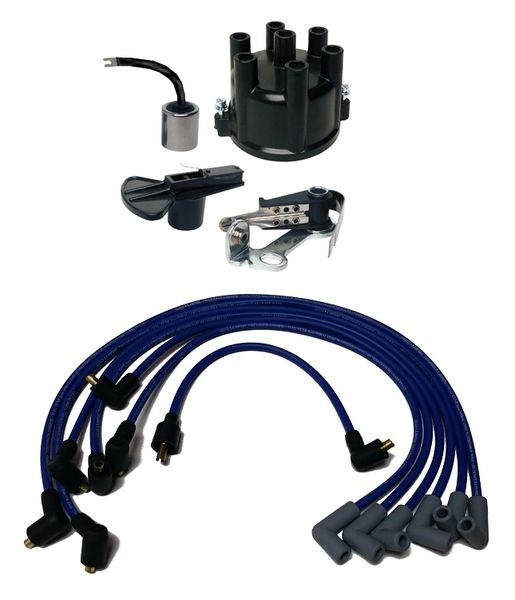 Delco Inline 6cyl Tune Up Kit w/ Wires