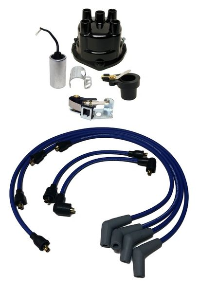 Inline 4cyl 3.7L 170HP 224CID Tune Up Kit w/ Wires