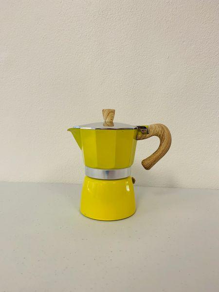 Moka Pot 3 Espresso Cup YELLOW