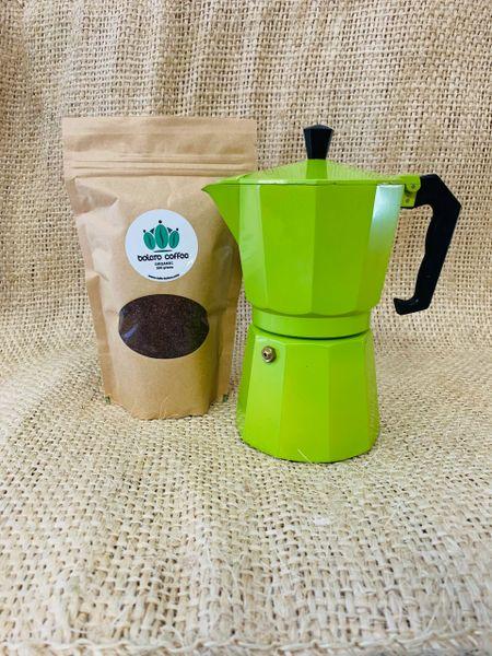 Moka Pot with 100g Coffee