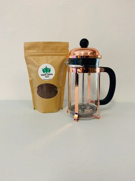 French Press +200g Coffee Combo
