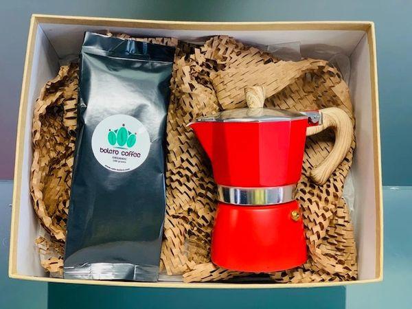 Coffee & Moka Express gift Combo