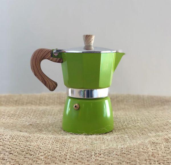 Moka Pot 3 Espresso Cup GREEN