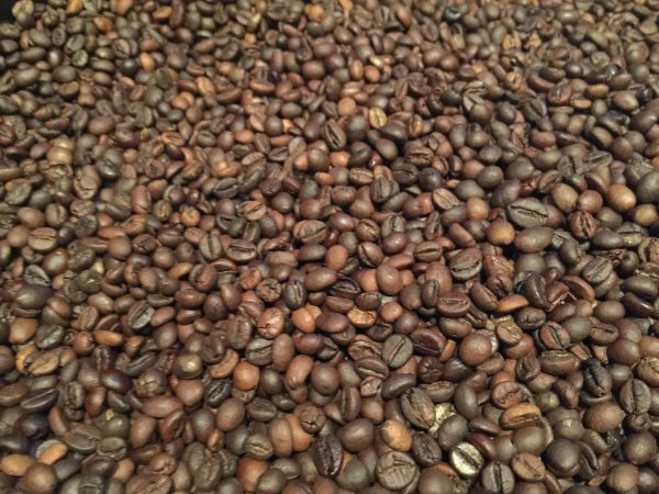 200g roasted coffee beans (native blend)