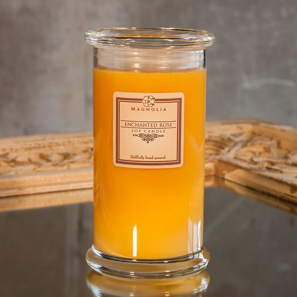 Enchanted Rose 18.5oz Soy Candle