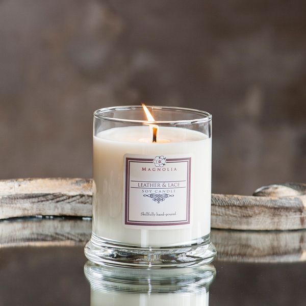 Leather & Lace 10oz Soy Candle