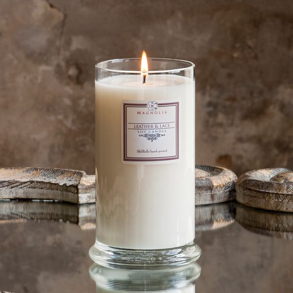 Leather & Lace 18.5oz Soy Candle