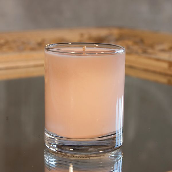 Pink Mimosa 2.5oz Soy Candle in Glass