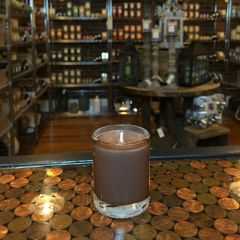 Hot Fudge Brownies 2.5oz Soy Candle in Glass