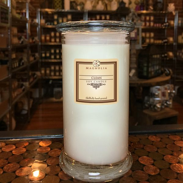 Clean 18.5oz Soy Candle