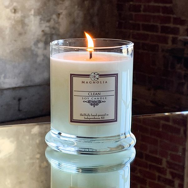 Clean 10oz Soy Candle