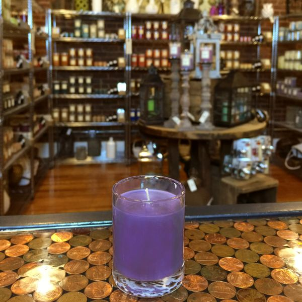 Blackberry Sage 2.5oz Soy Candle in Glass
