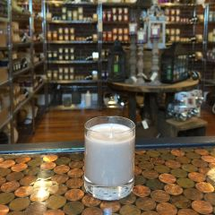 Dude 2.5oz Soy Candle in Glass
