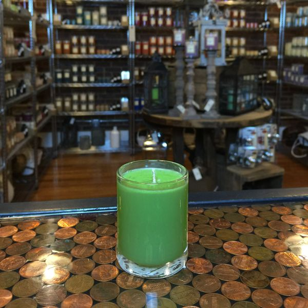 Witch's Socks 2.5oz Soy Candle in Glass