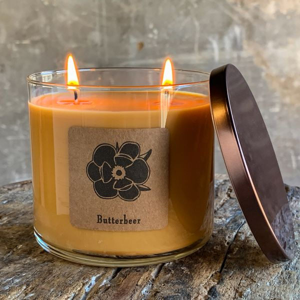 Butterbeer 18.5oz Soy Candle