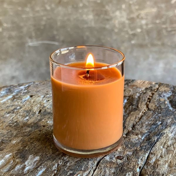 Pumpkin Crunch Cake 2.5oz Soy Candle in Glass