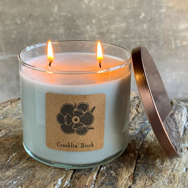 Cracklin' Birch 18.5oz Soy Candle