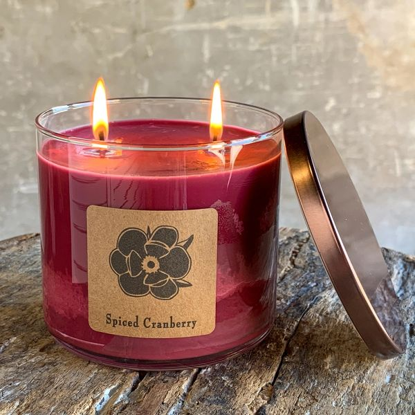 Spiced Cranberry 18.5oz Soy Candle