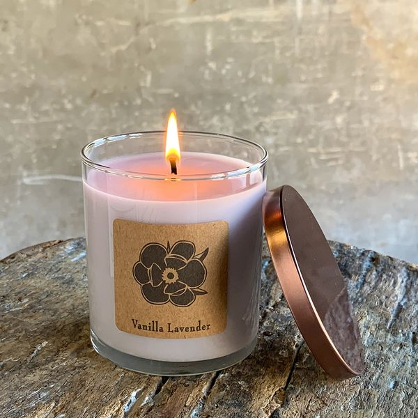 Vanilla Lavender 10oz Soy Candle