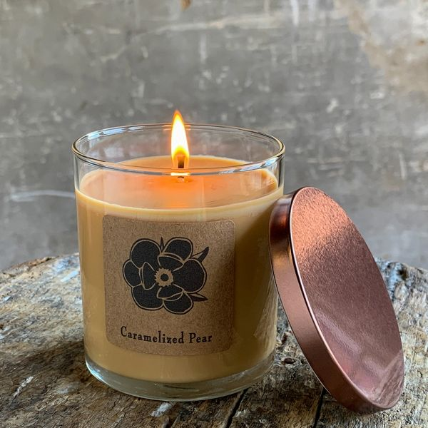 Caramelized Pear 10oz Soy Candle