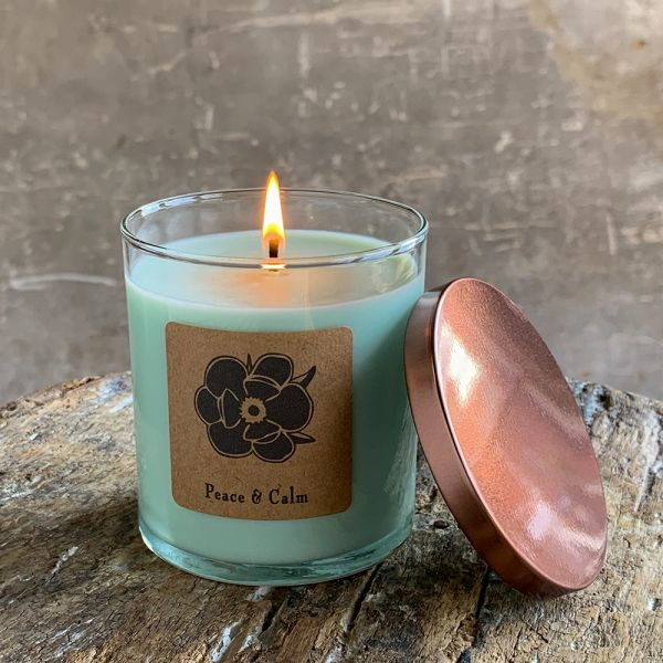 Peace & Calm 10oz Soy Candle