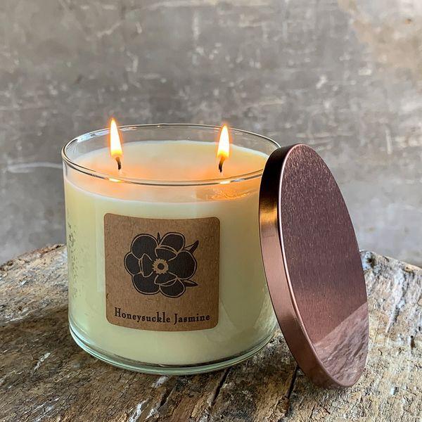Honeysuckle Jasmine 18.5oz Soy Candle