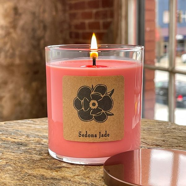 Sedona Jade 10oz Soy Candle