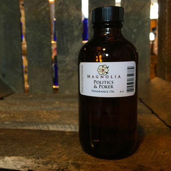 Politics & Poker 4oz Fragrance Oil