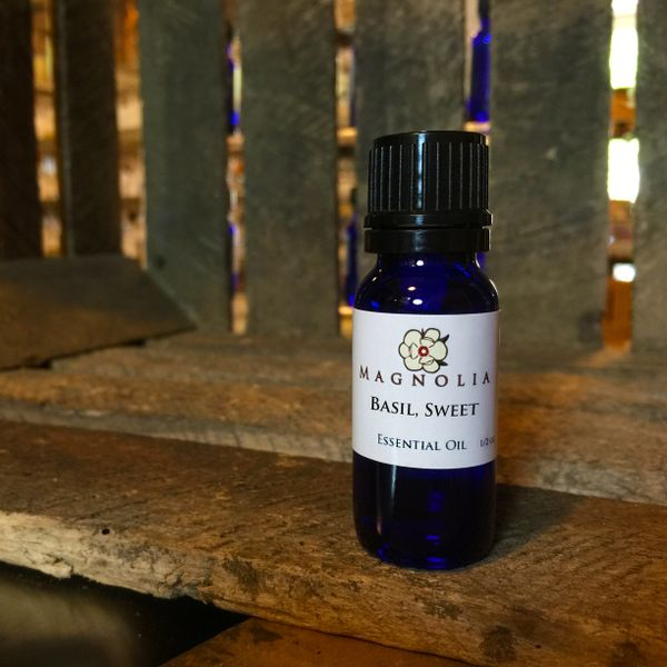 Basil, Sweet .5oz Essential Oil