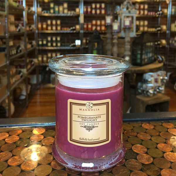 Pomegranate Twilight 10oz Soy Candle