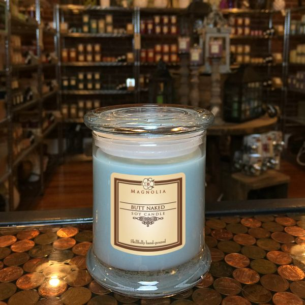 Butt Naked 10oz Soy Candle