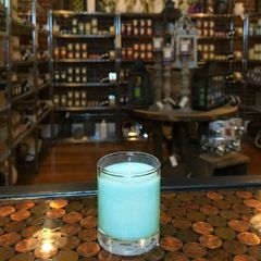 Caribbean Teakwood 2.5oz Soy Candle in Glass