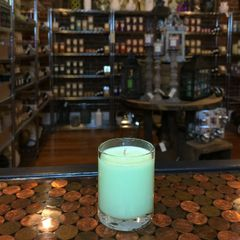 Cucumber Julep 2.5oz Soy Candle in Glass