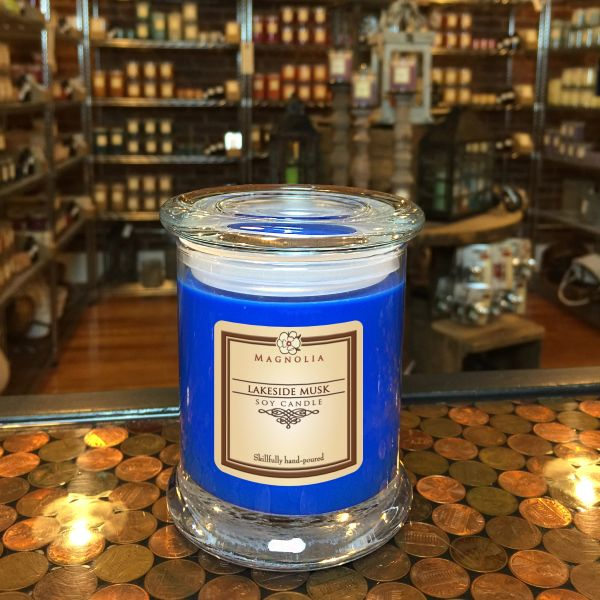 Lakeside Musk 10oz Soy Candle