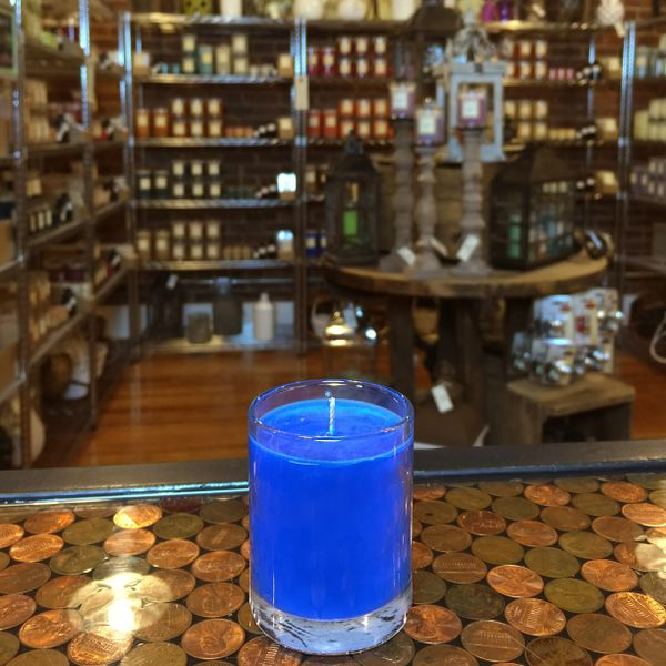 Lakeside Musk 2.5oz Soy Candle in Glass
