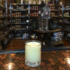 Honeysuckle Jasmine 2.5oz Soy Candle in Glass