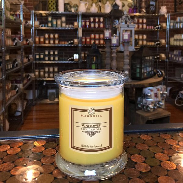Sunflower 10oz Soy Candle