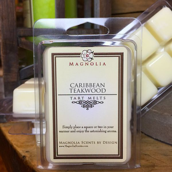Caribbean Teakwood Soy Wax Tart Melts