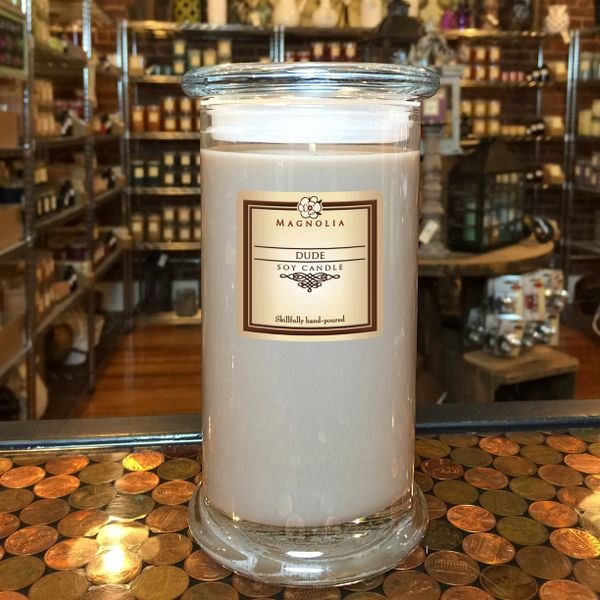 Dude 18.5oz Soy Candle
