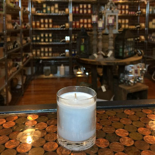 Politics & Poker 2.5oz Soy Candle in Glass