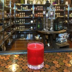 Apple Cinnamon 2.5oz Soy Candle in Glass