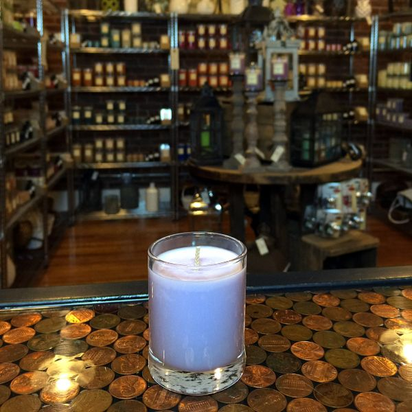 Chocolate Orchid 2.5oz Soy Candle in Glass