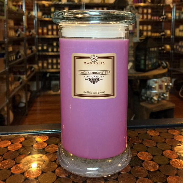 Black Currant Tea 18.5oz Soy Candle