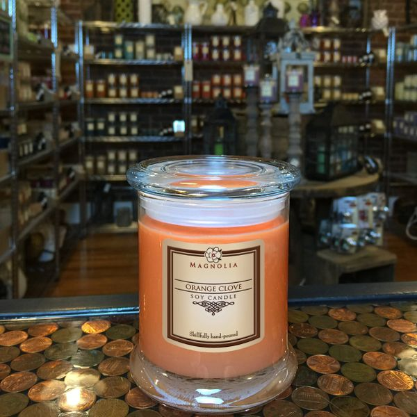 Orange Clove 10oz Soy Candle