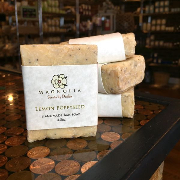 Lemon Poppyseed Bar