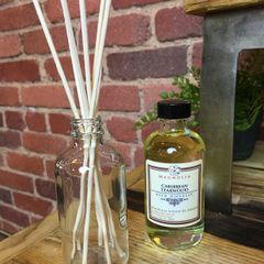 Caribbean Teakwood 4oz Reed Diffuser Oil