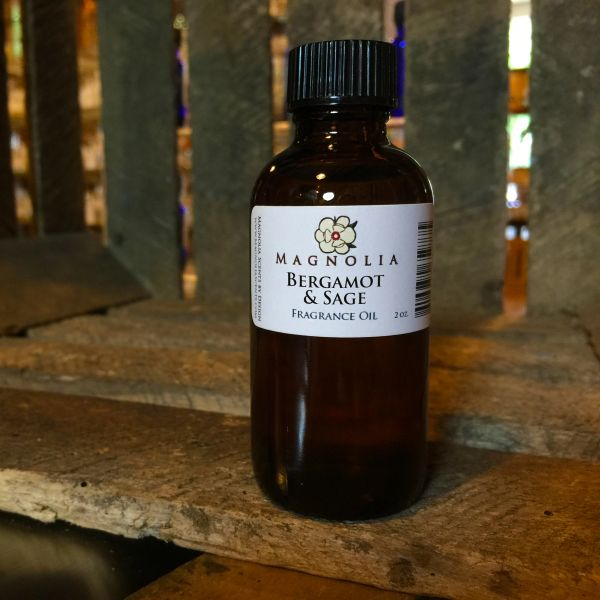 Bergamot & Sage 2oz Fragrance Oil