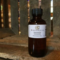 Saffron Ginger 2oz Fragrance Oil