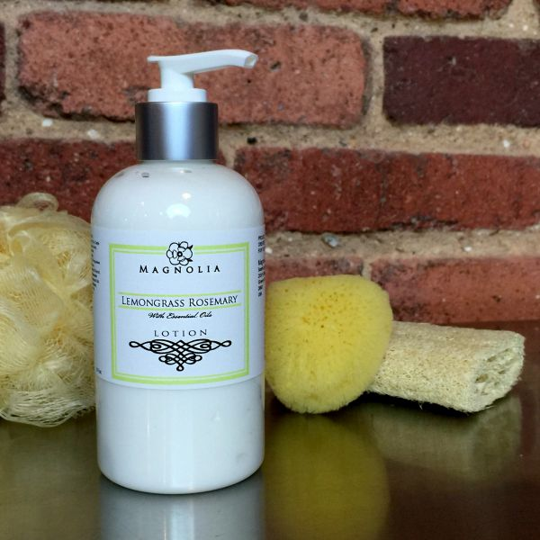 Lemongrass Rosemary 8oz Lotion